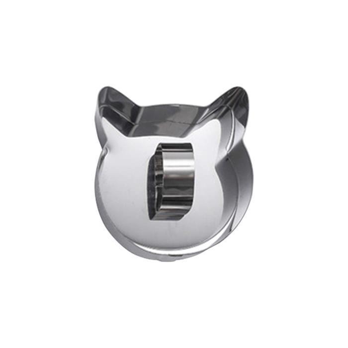 Moule à gâteau d'acier inoxydable d'outils de cuisson avec l'outil de moule de coupe de sushi de plaque de poussée i692