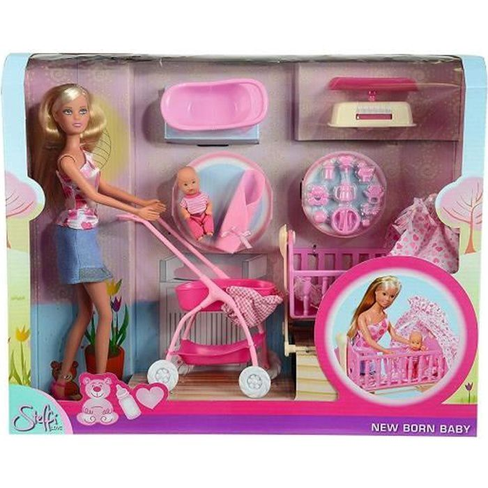 Simba Toys 105730861 Steffi Love New Born Baby Set