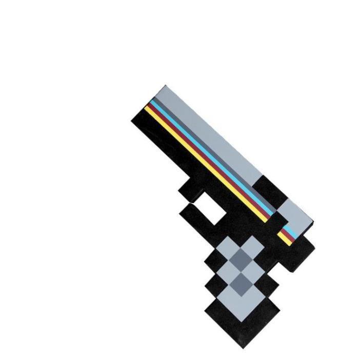 Minecraft jouet périphérique arme jouet virtuel en mousse EVA 7