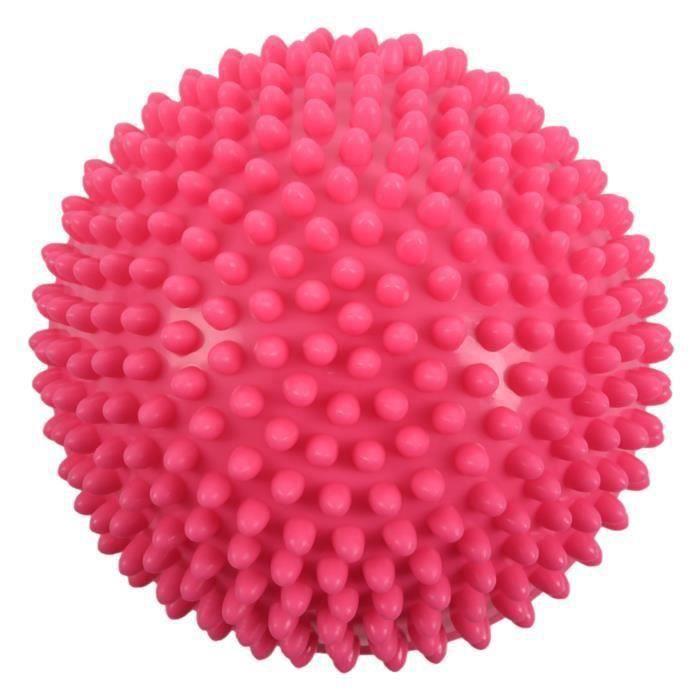 Yoga Demi-Boule Appareil de Fitness Oefening Massage Tremplins éQuilibre Pods Gym Yoga Pilates Rose COSKF35800