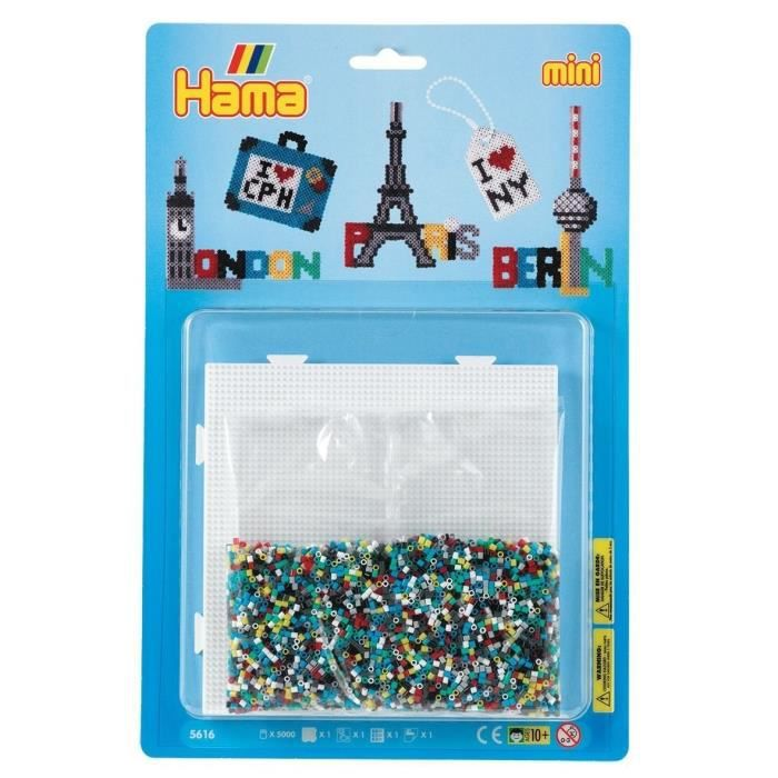 HAMA Mini Blister GM Les Capitales