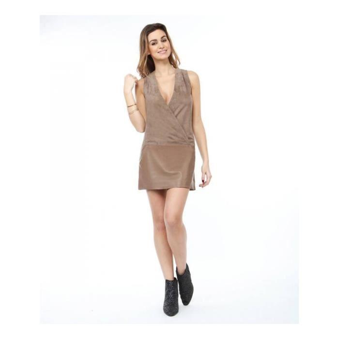 REDSKINS - Emma ipanema - Robe bi-matière - Femme