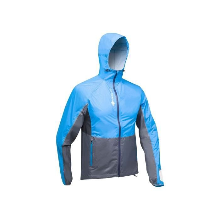 Veste Running RAIDLIGHT Homme Top Extreme MP+ Jacket Bleu / Gris PE 2019