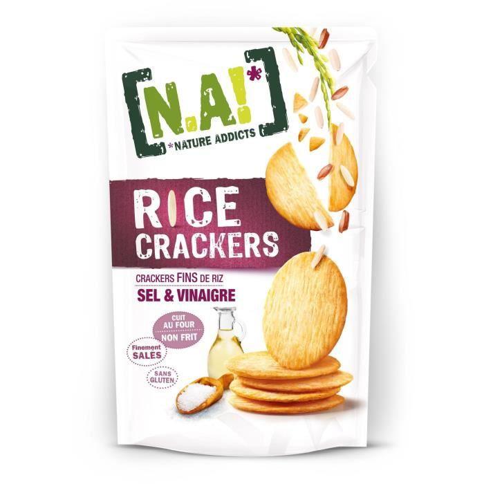 Crackers de riz sel et vinaigre 70g N.A!