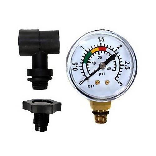 Kit complet manomètre pour filtre piscine polyclair et platine de filtration platiclair plus 6 m³-h