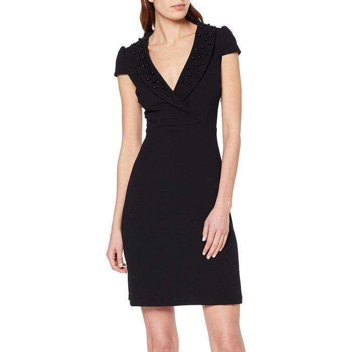 Rinascimento Cfc0091182003 Robe, Noir (Nero B001), Medium Femme - CFC0091182003-B001