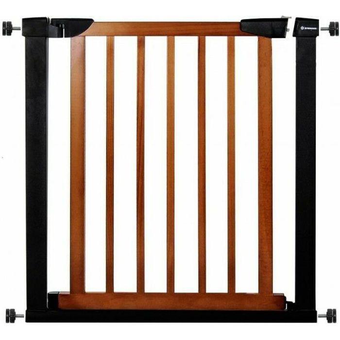 SPRINGOS® Barrière de Sécurité Bébé, Enfant pour Escaliers, Portes 75-82 cm