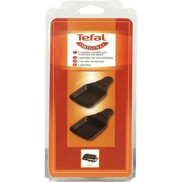 Poelon carre par 2 pour Raclette Tefal, Pierrade Tefal, Plancha Tefal, Raclette Vivalp - 3665392036616