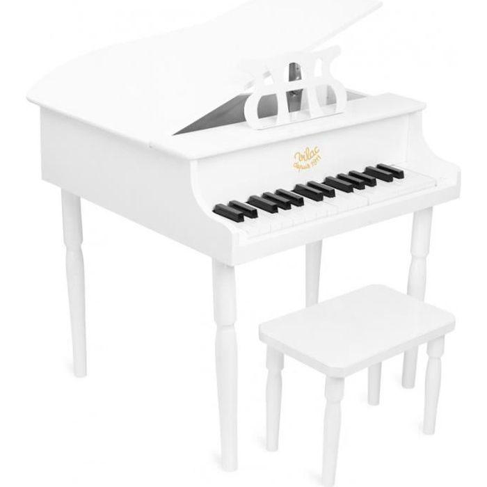 Vilac - Grand Piano à queue blanc - VILAC