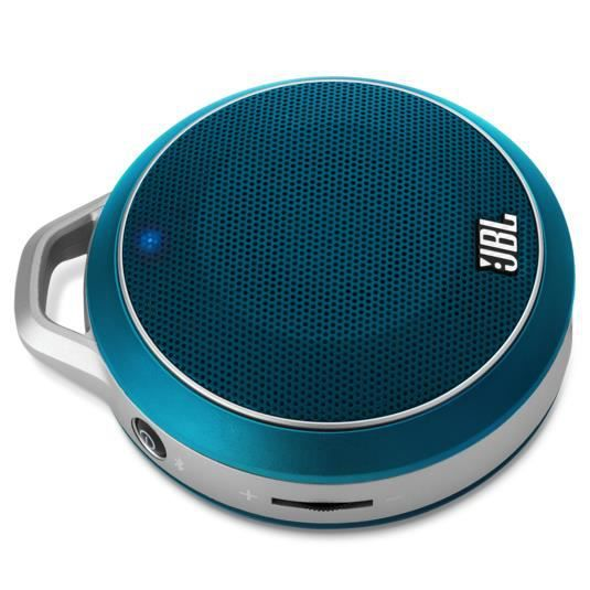 jbl micro wireless mini enceinte bluetooth 3watts bleu. Black Bedroom Furniture Sets. Home Design Ideas