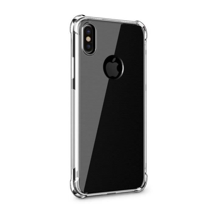 coque iphone xs slim silicone