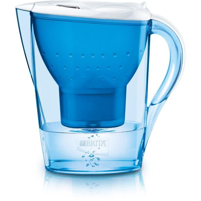 carafe marella brita 2 4 l blue achat vente carafe filtrante cdiscount. Black Bedroom Furniture Sets. Home Design Ideas