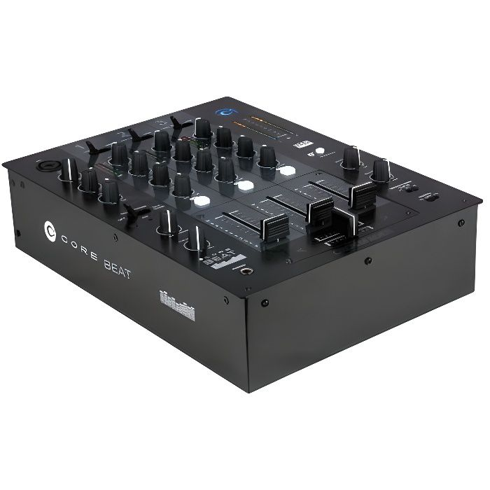 core beat table de mixage dj 3 canaux table de mixage avis et prix pas cher cdiscount. Black Bedroom Furniture Sets. Home Design Ideas