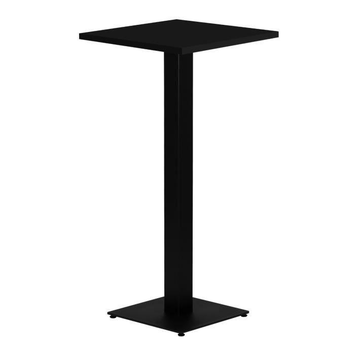 Table Haute Chick NOIR Noir 7545_17416