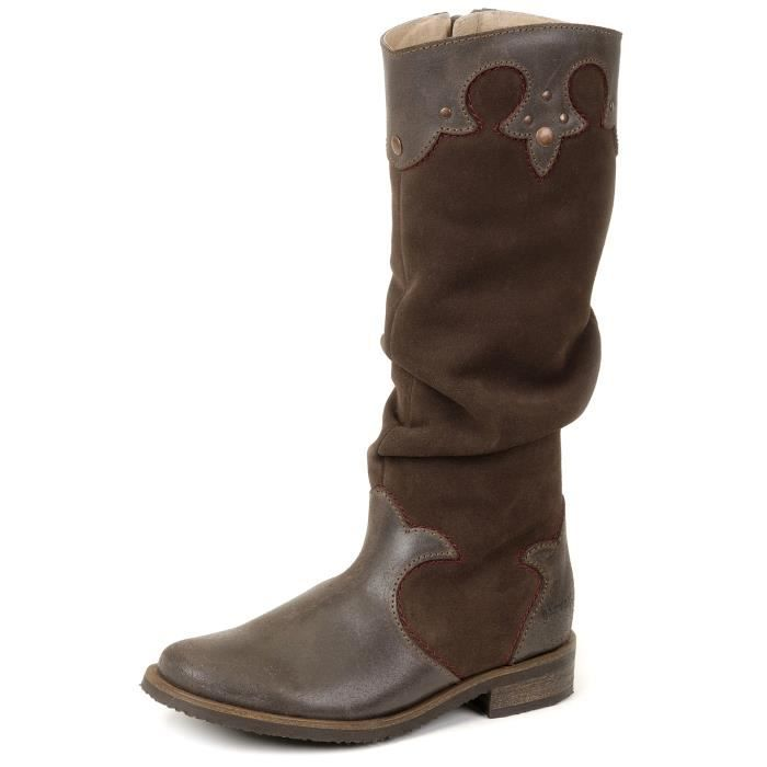 Garvalin - Bottes Fille Marron …