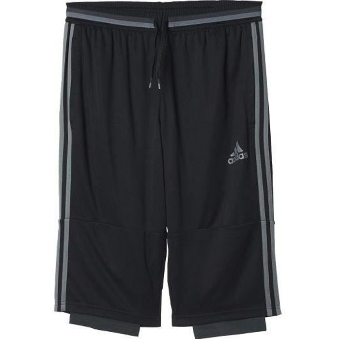Hábil Soportar Finanzas  Pantalon 3 4 homme adidas - Achat / Vente pas cher
