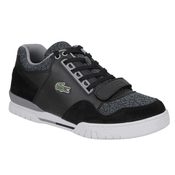 chaussures homme lacoste achat vente lacoste pas cher cdiscount. Black Bedroom Furniture Sets. Home Design Ideas