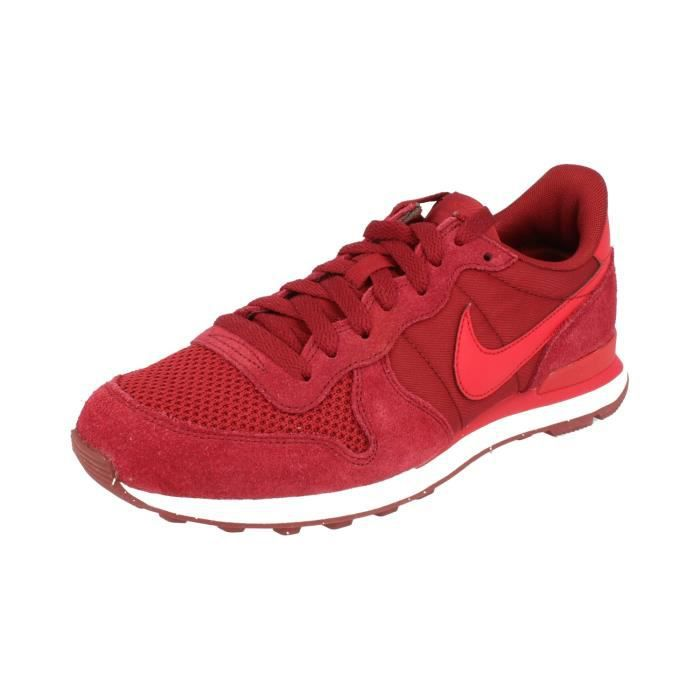 nike internationalist homme rouge