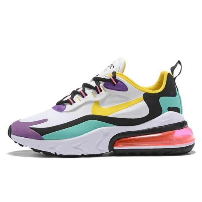 Nike Air Max 270 React (Geometric Abstract) Chaussure pour Homme Femme