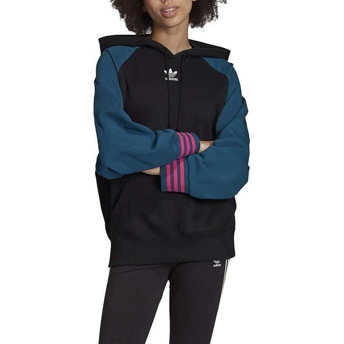 adidas sweat femme noir