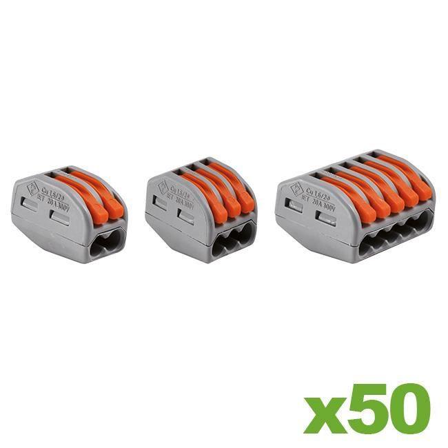 WAGO Valisette 100 bornes de connexion automatique S221 et S2273