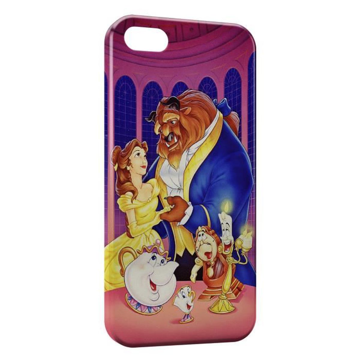 coque iphone 5 la belle et la bete
