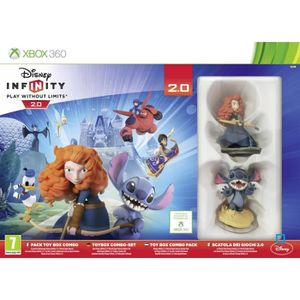 JEU XBOX 360 Pack Disney Infinity 2.0 : Toy Box Combo Xbox 360