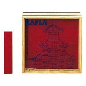 ASSEMBLAGE CONSTRUCTION Jeu D'Assemblage X0QH9 Kapla - 40 bâtiment en bois