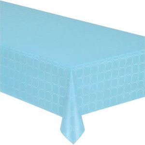 Bleu fonc/é Chemin de table en papier 50m x 1m Nappe damass/ée