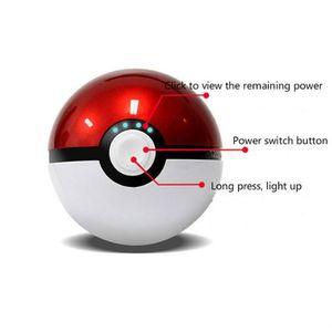 BATTERIE EXTERNE 12000 mAh Pokémons Aller Pokeball Charge Externe P