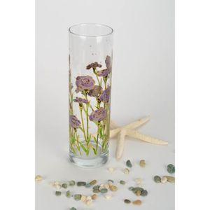 VASE - SOLIFLORE Vase à fleurs en verre fait main
