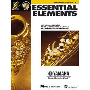 MÉTHODE METHODE - ESSENTIAL ELEMENTS VOL.1 + CD - SAXOP…