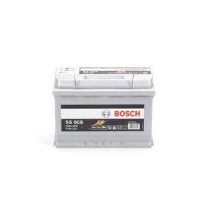 BATTERIE VÉHICULE BOSCH Batterie Auto S5008 77Ah 780A / + à droite