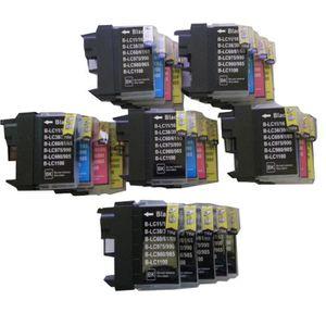 CARTOUCHE IMPRIMANTE 25 XL ColourDirect Cartouche D'encres LC1100 LC985