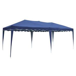 TONNELLE - BARNUM Tente de réception ZEPHYR pliante 3 × 6m Bleu