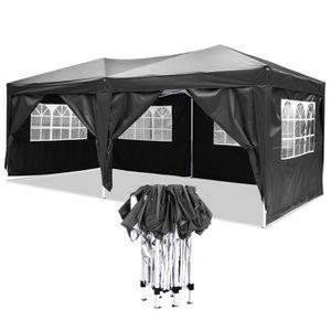 TENTE DE CAMPING Tente pliant Canopy Party 3 x 6m avec côté panneau