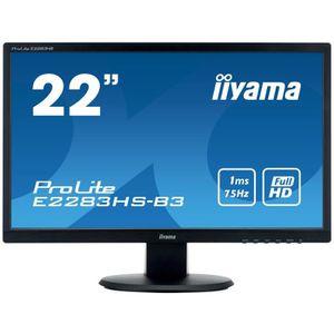 ECRAN ORDINATEUR Ecran PC - IIYAMA ProLite E2283HS-B3 - 22