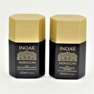 DÉFRISAGE - LISSAGE Mini Kit Lissage INOAR Marroquino 2 x 250 ml