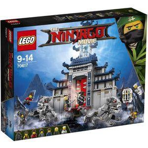 ASSEMBLAGE CONSTRUCTION LEGO® Ninjago 70617 Le Temple de l'Arme ultime sup