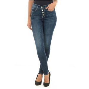 JEANS Jean skinny stretch taille haute W73A28 1981 -GUES ...