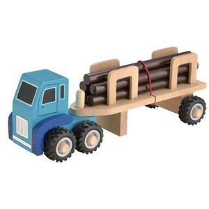 camion transport de bois achat vente jeux et jouets pas chers. Black Bedroom Furniture Sets. Home Design Ideas