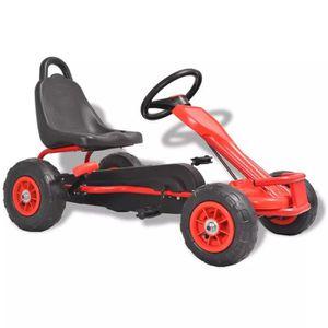 QUAD - KART - BUGGY Kart à pédales avec pneus Quad - Kart - BuggyRouge