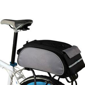 ASEOK Panier /à V/élo Montagne Panier,Bicyclette Pliable en Maille M/étallique Amovible Avant d/étachable Sac /à v/élo arri/ère Sac de vAccessoires de v/élo de Montagne Panier de Cadre de v/élo