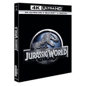BLU-RAY FILM Jurassic World Bluray 4K + Bluray