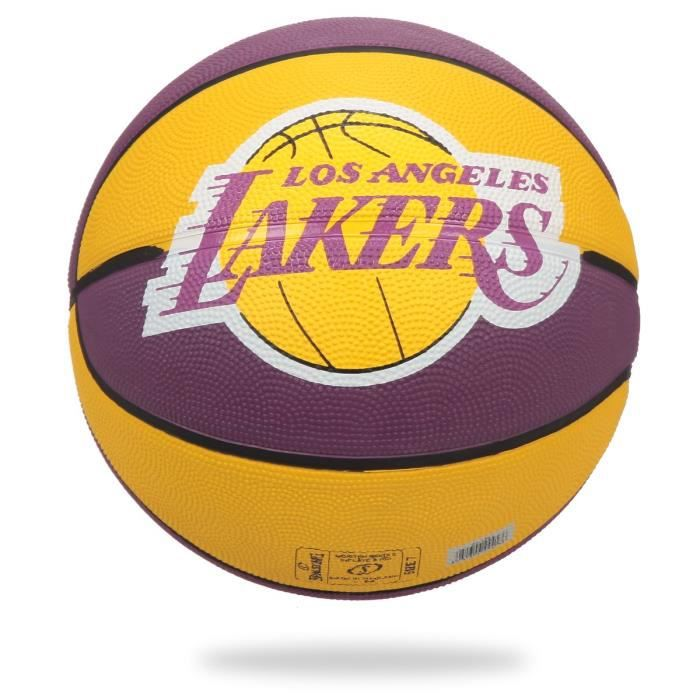 SPALDING Ballon Basket-ball Team Ball NBA L.A. Lakers BKT