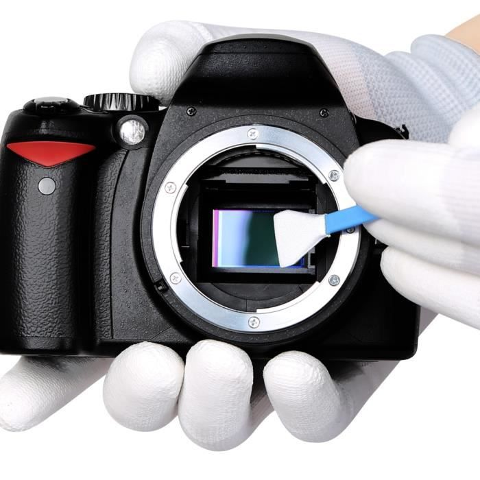 Entretien et nettoyage,Kit de nettoyage pour caméra et Photo CCD-CMOS Kit de nettoyage pour capteur VSGO DDR 16 pour le nettoyage