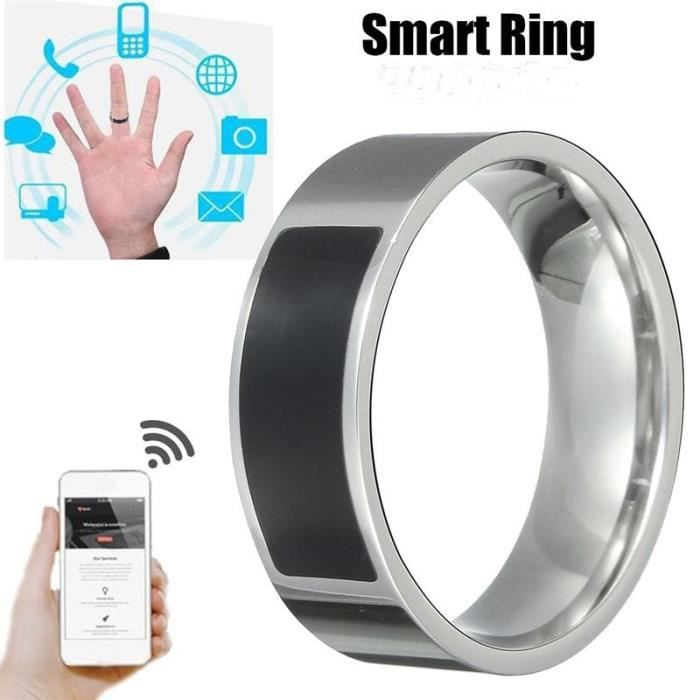Anneau intelligent étanche multifonctionnel NFC anneau numérique de doigt d'usure intelligente_YS1321
