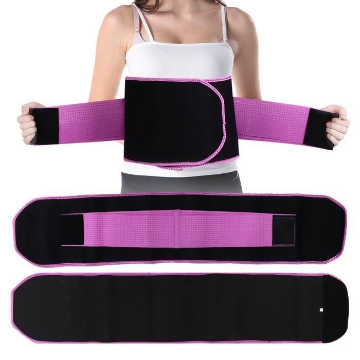 WIPES Ceinture de musculation de formateur de taille ceinture de fitness S-20*90cm