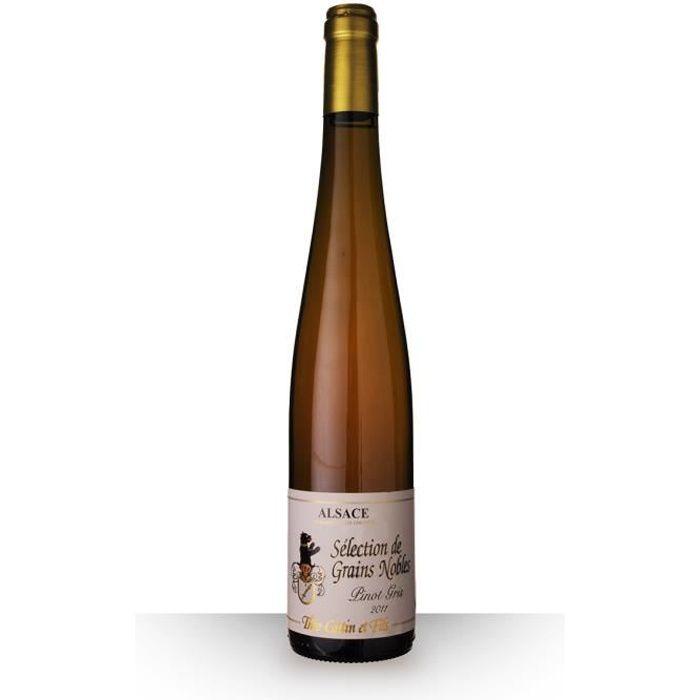 Théo Cattin Sélection de Grains Nobles Pinot Gris 2011 AOC Alsace Hatschbourg - 50cl - Vin Blanc