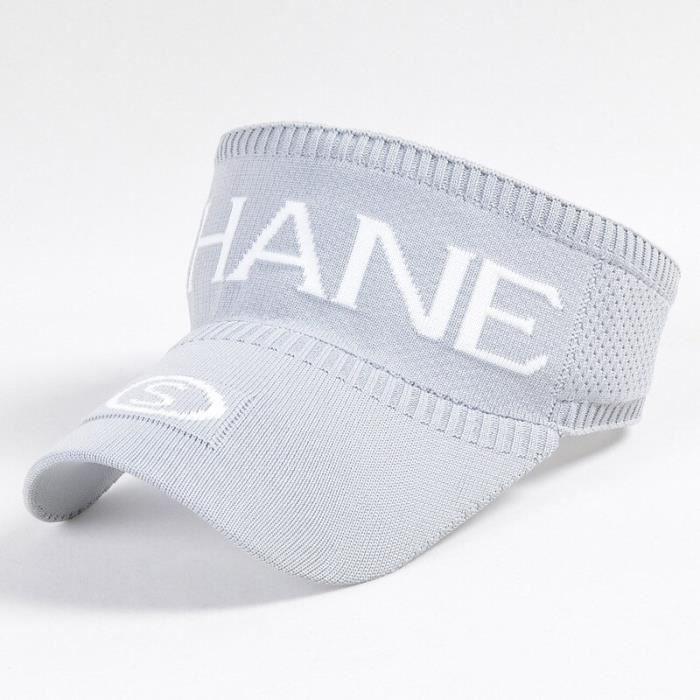 Chapeau de soleil K32 pour femmes, casquette de Tennis, Baseball, Long avant, tricoté, sport, cyclisme, vide, offre [590C83B]